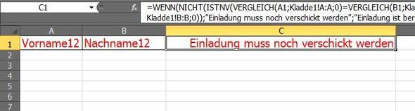 Kladde2 - (Excel, Sverweis, WennUnd)