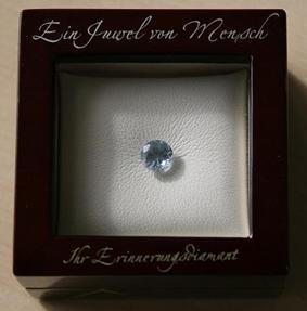 algordanza Diamantbestattung Vorsorgegarantie - (Diamant, asche, Feuerbestattung)