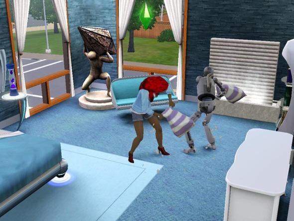 mein Simbot-Sohn - (Computer, Games, Die Sims 3)