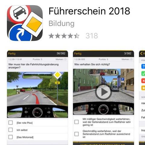 ..... - (App, lernen, Führerschein)
