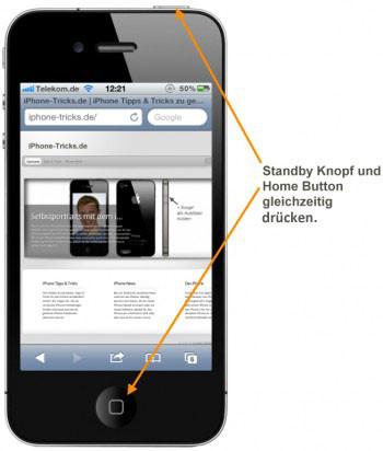 - (Handy, iPhone, iPhone 4)