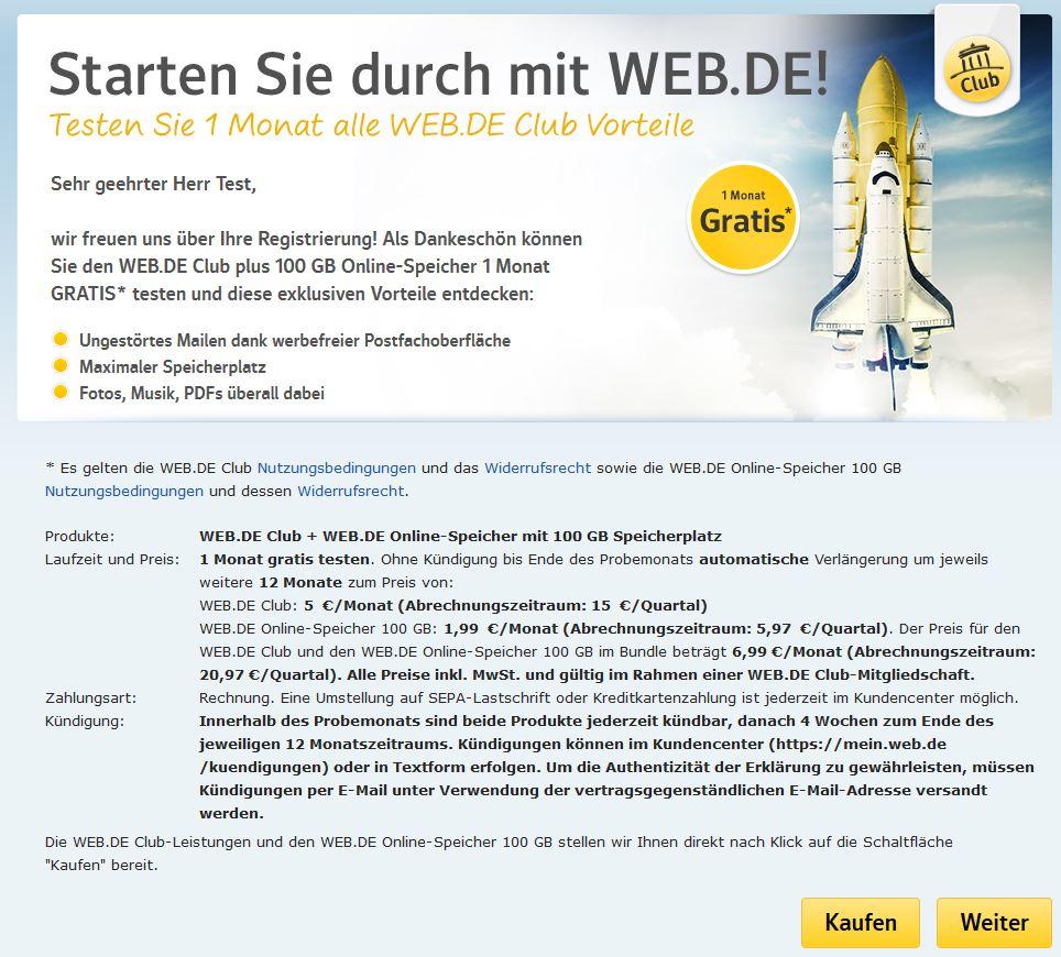 Abofalle Web.De