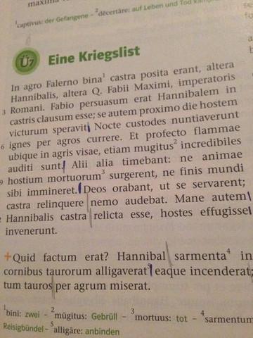 - (Latein, übersetzen)