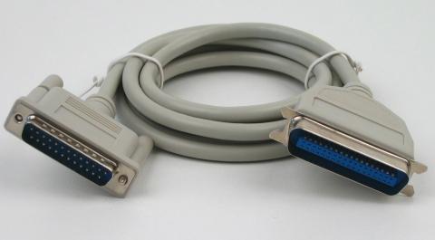 Paralellportkabel - (Verbindungskabel, PC und Drucker)