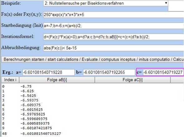 Lösung der Gleichung für Nullstelle 5*x²*e^x+0,06*x+0,1=0? (Schule ...