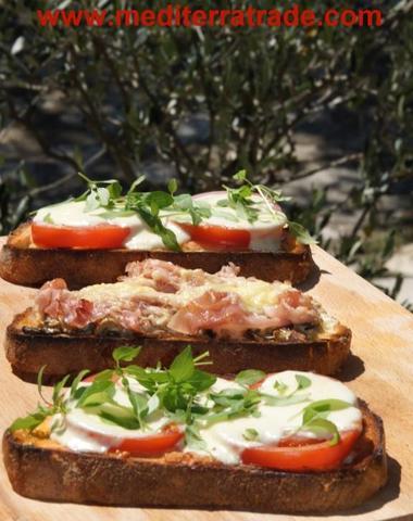 Bruschetta - (kochen, Rezept, Pizza)