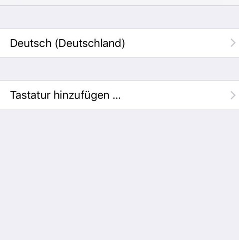 Tastaturen Hinzufügen  - (Handy, Technik, iPhone)