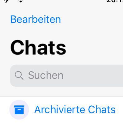 Antwort Aus Whats App Mülleimer Zurückholen Handy Smartphone