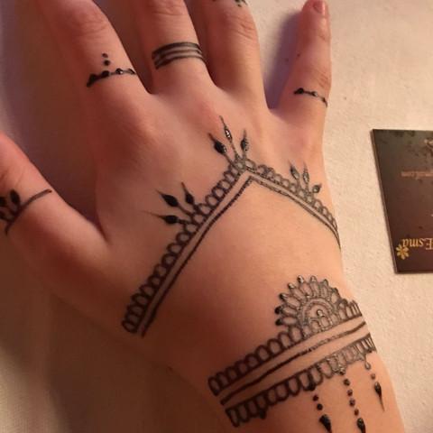 Henna, tatoo, trocken, - (Tattoo, Henna)
