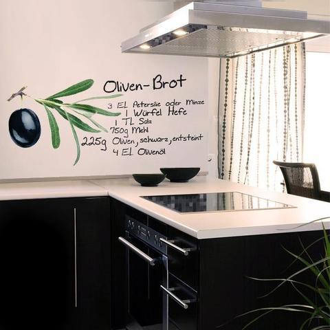 abwaschbare tapeten f r die k che tapete fur kuche auswahlen 20 ideen fur wandgestaltung in der. Black Bedroom Furniture Sets. Home Design Ideas