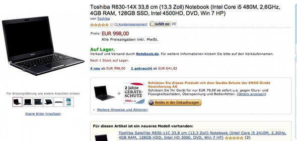 Toshiba - (Apple, Größe, Macbook)