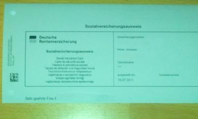neue sozialversicherungsausweis tracking support. Black Bedroom Furniture Sets. Home Design Ideas