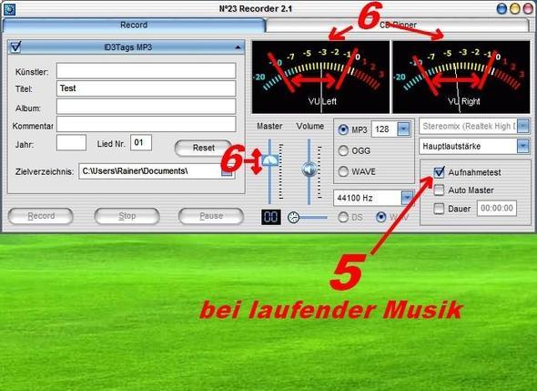 Schritt 2 - (audio, Aufnahme, Win 7)