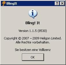 Bling! It - (Programm, Bildbearbeitung, Bildbearbeitungsprogramm)