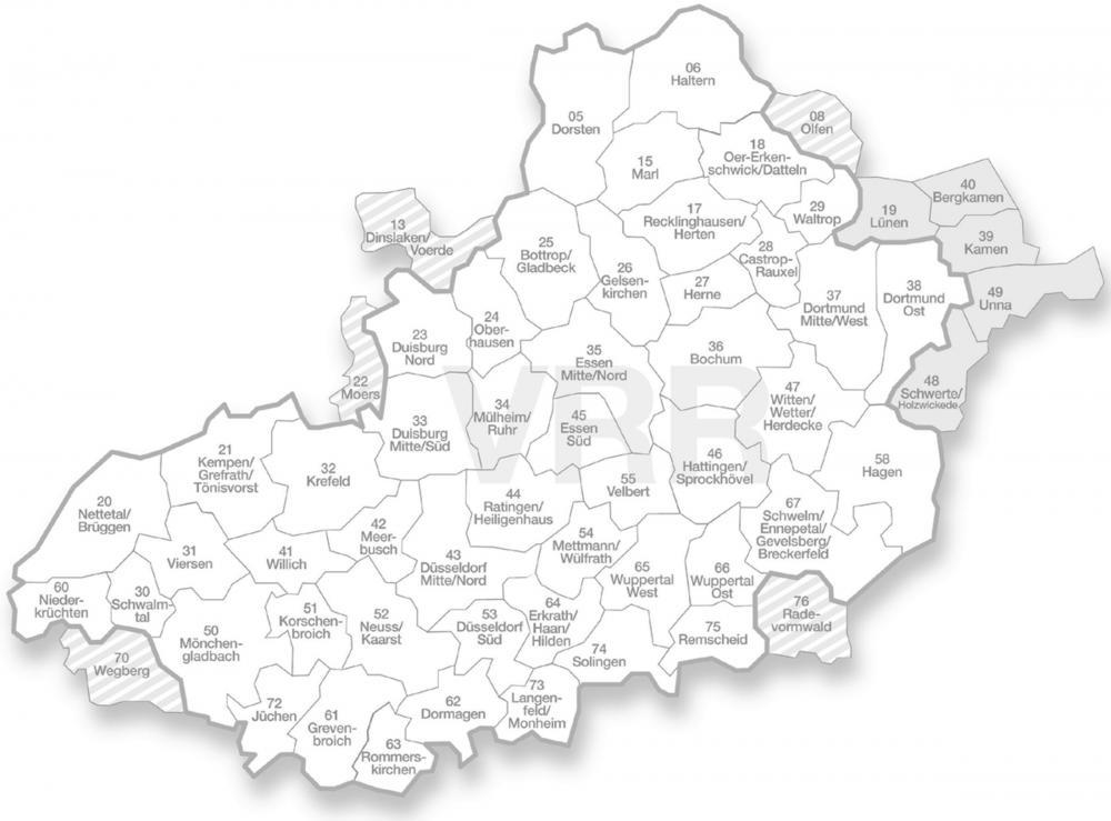 Vrr Gebiet Köln
