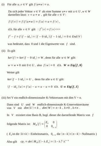 - (Mathe, Mathematik, Algebra)