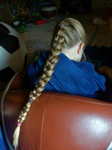 Sohn Lange Haare