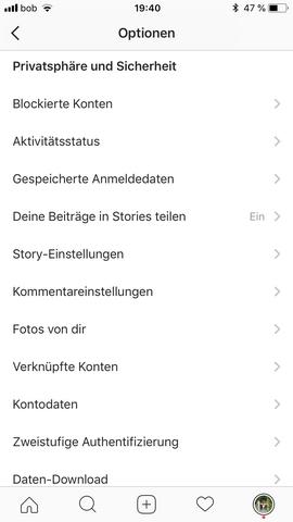 instagram blockierte konten aufheben geht nicht