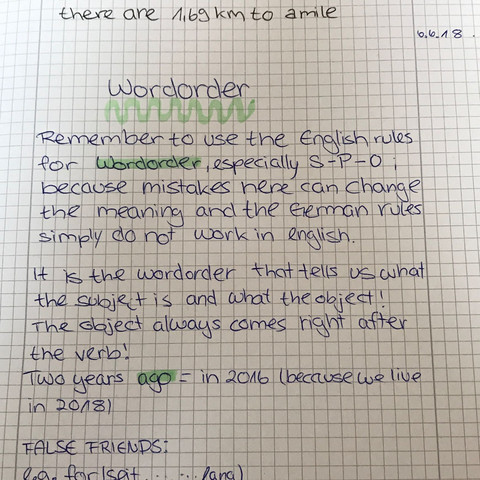 Mein Eintrag  - (Schule, Sprache, Ausbildung und Studium)