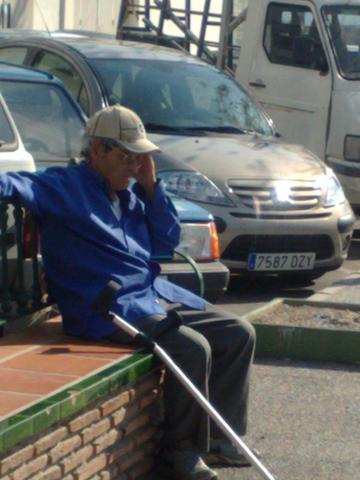 warten in nerja - (Urlaub, Reise, Spanien)