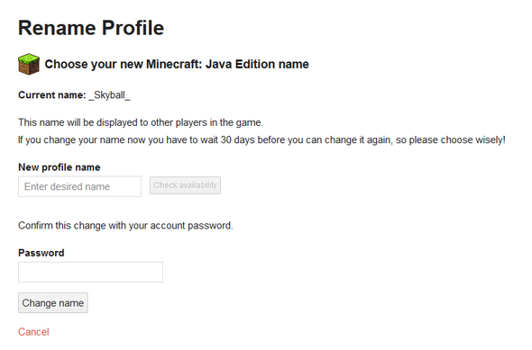 Wie Kann Ich Auf Meinem PC Bei Minecraft Java Edition Meinen Namen - Minecraft namen fruher andern