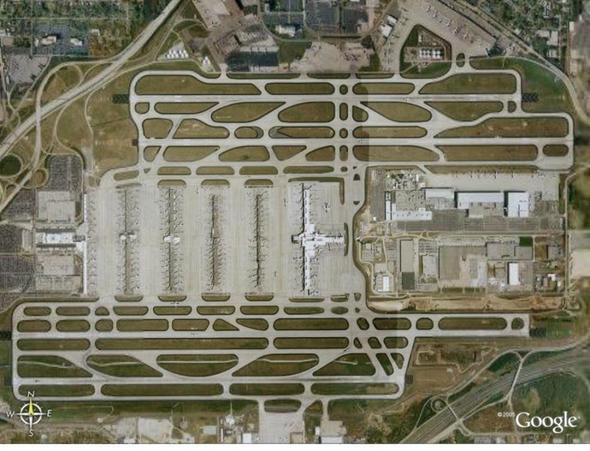 Grösster Flughafen der Welt... - (Größe, Flughafen)