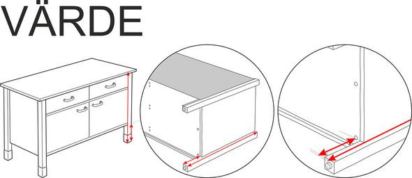 Hat Jemand Eine Ikea Värde Küche Und Würde Mir Bitte Schnell Etwas