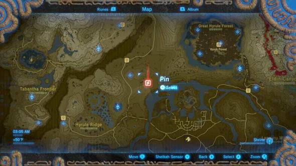 Zelda Alle Schreine Karte.Markierungspunkte In Zelda Loschen Games Spiele Und