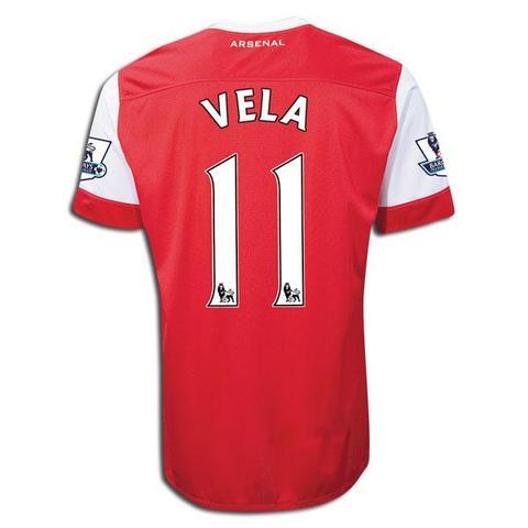 Carlos Vela Arsenal Trikot - (Mexiko, Arsenal, trikotnummer)