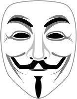 Anonymous Maske - (Internet, Anonymous)