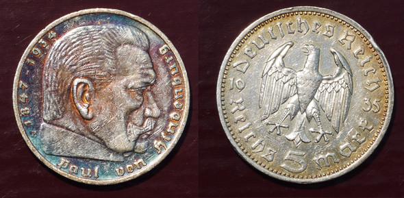 Reichsmark Der Wert Geld Münzen