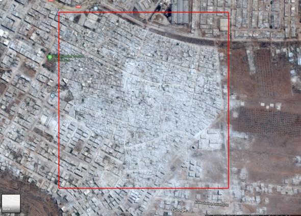 Syrien Google Maps
