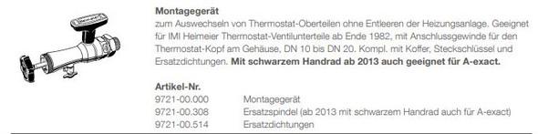 - (Heizung, reparieren, Thermostat)
