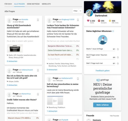 - (gutefrage.net, Meinung, Community)