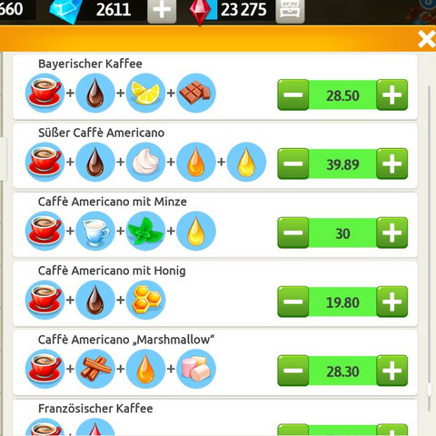 My Cafe Rezept Fur Bayerischen Cafe Handy Spiele My Cafe