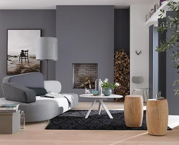 Grau :D - (Farbe, Zimmer, Wand)
