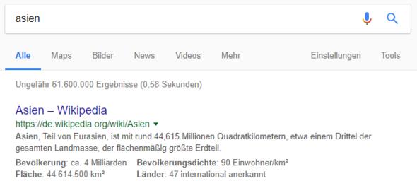 - (Internet, Google Suchmaschine)