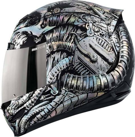 - (Motorrad, Helm, Icon)