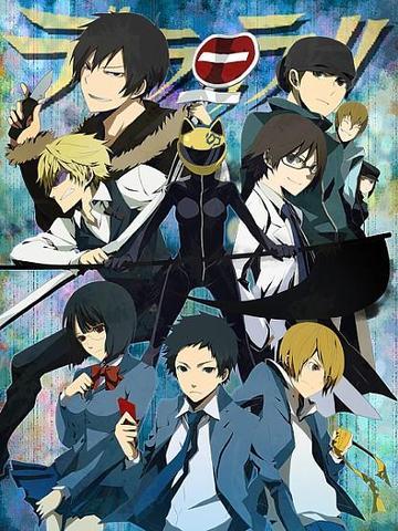 Durarara - (Anime, Kinder, Serie)
