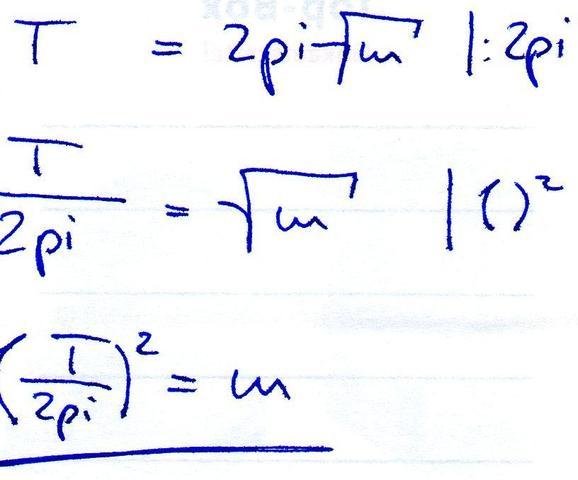 Nach T umstellen - (Mathe, Mathematik, Physik)