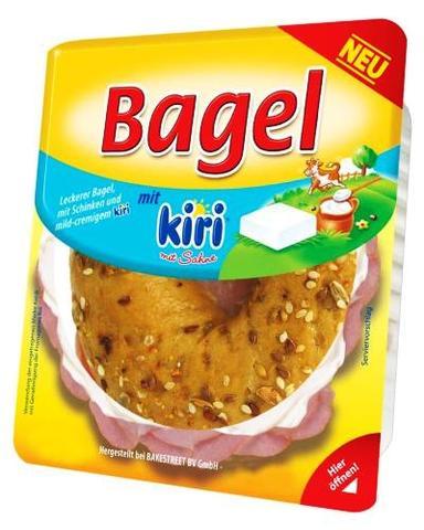 Bagel Kiri - (Food, Supermarkt, Bagel)