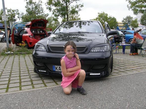 Meine Tochter und unser Astra G - (Auto, Austausch, Opel)