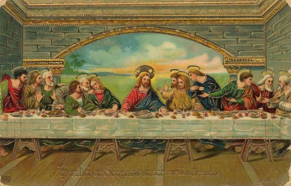 Das Letzte Abendmahl Bibelstelle
