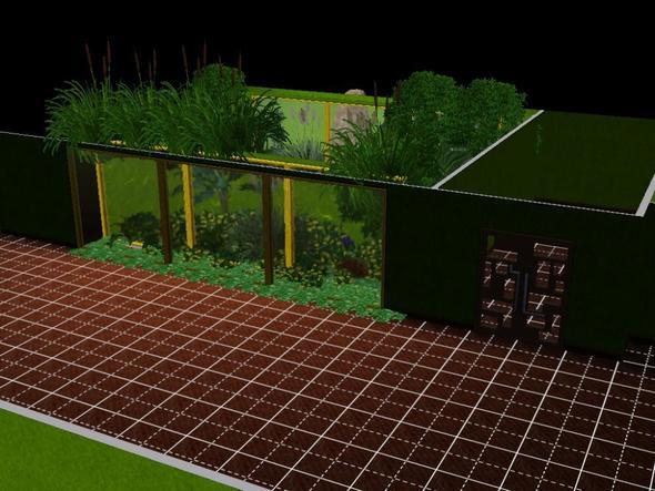 Keller mit Sicht in den Pool - (Sims 3, Aquarium)