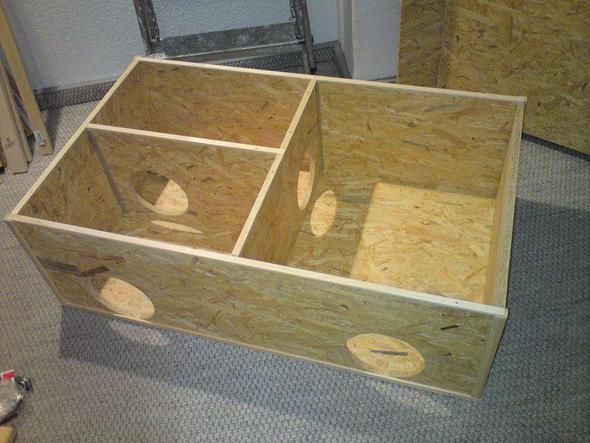 winterfeste hasen schutz tten winter kaninchen tierhaltung. Black Bedroom Furniture Sets. Home Design Ideas