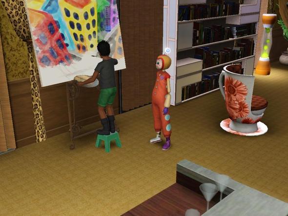 Freunde als Kinder - (Computerspiele, Sims 3)