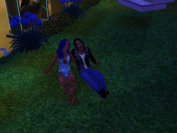 Paar als Teeny - (Computerspiele, Sims 3)
