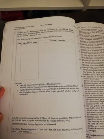 Kurzgeschichte Analyse Beispiel Text Schule Deutsch