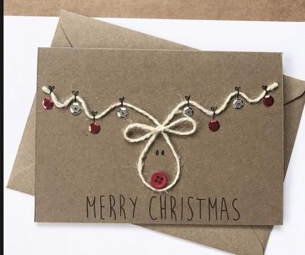 Schnelle Weihnachtskarten Basteln.Coole Und Schnelle Weihnachtskarten Weihnachten Basteln Cool