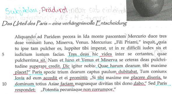 teil1 - (Latein, Übersetzen, Fremdsprache)